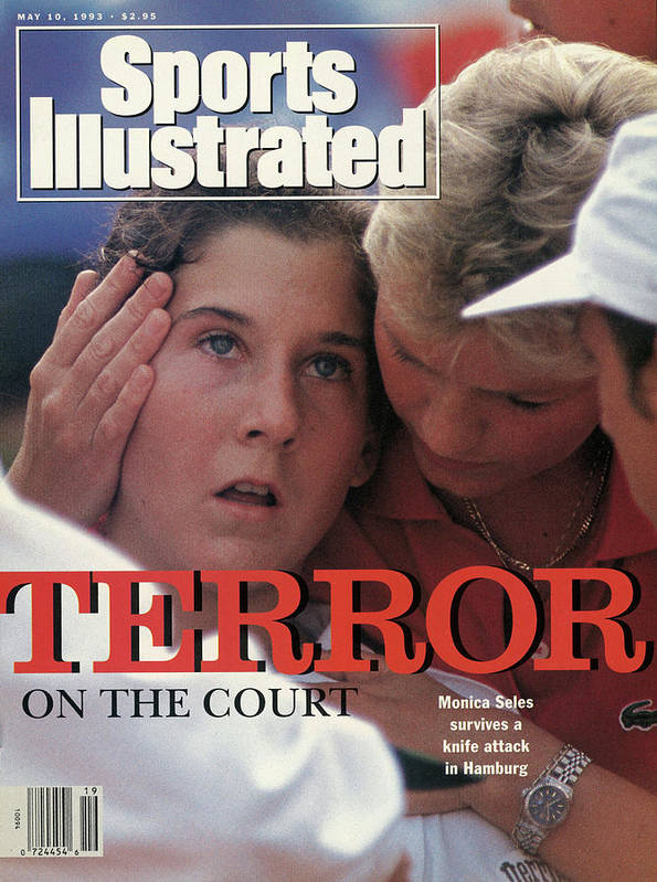 Magazine Cover Art Print featuring the photograph Yugoslavia Monica Seles, 1993 Citizen Cup Sports Illustrated Cover by Sports Illustrated