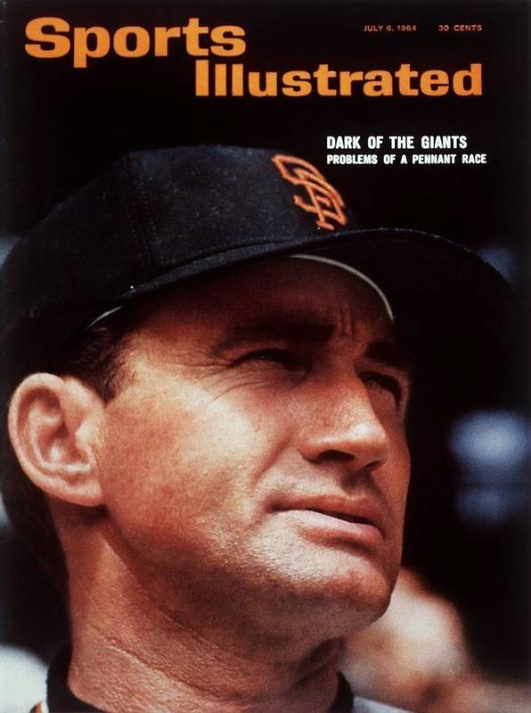 Alvin Dark Art Print featuring the photograph San Francisco Giants Manager Alvin Dark, 1963 All Star Game Sports Illustrated Cover by Sports Illustrated