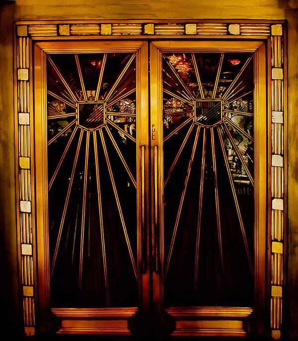 Cicada Club Doors Art Print