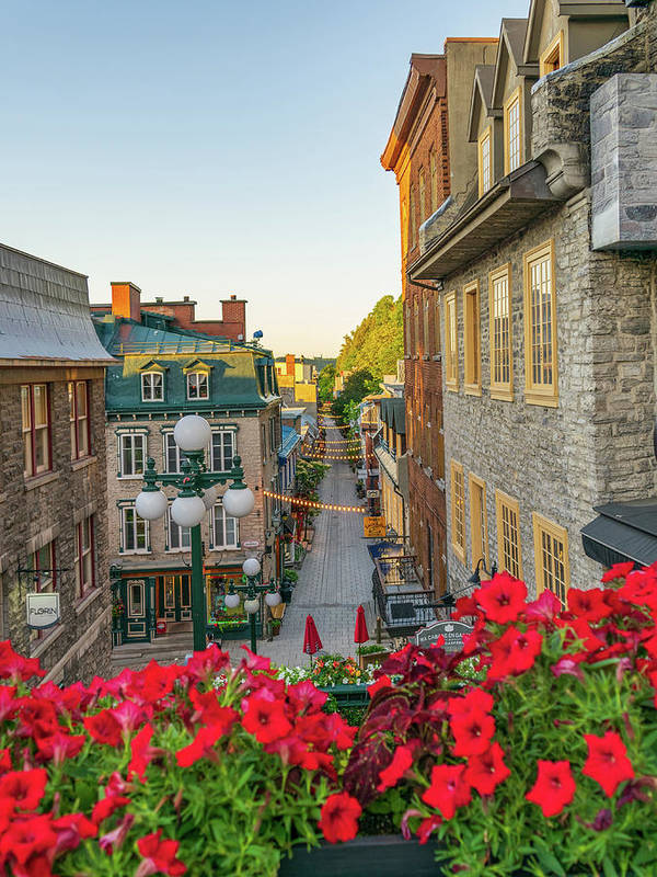Old Quebec by Aaron Geraud
