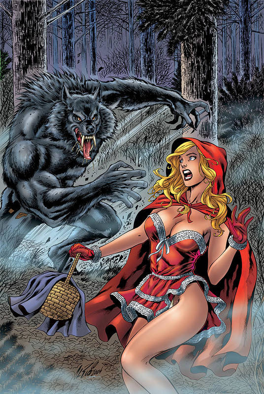 Grimm Fairy Tales Art Print featuring the digital art Grimm Fairy Tales 01 by Zenescope Entertainment