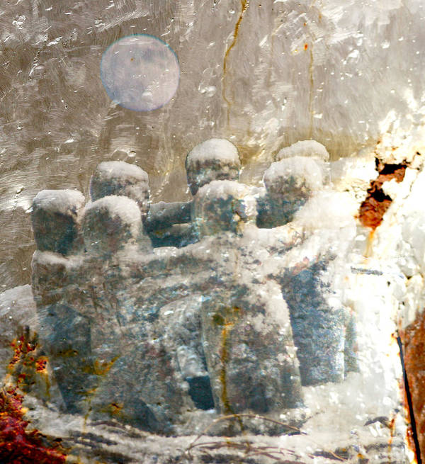 Moon Art Print featuring the photograph Moon Dance by Melvin Kearney