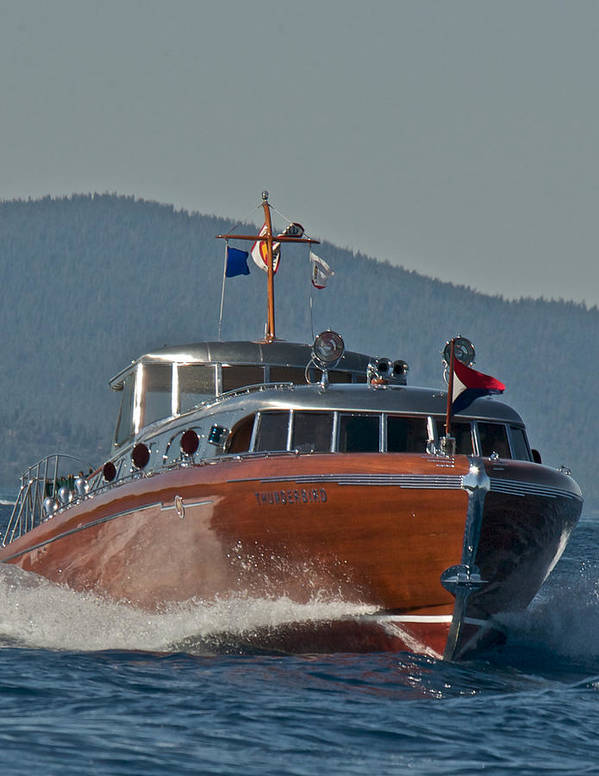 Lake Tahoe Art Print featuring the photograph Boat Show Special by Steven Lapkin