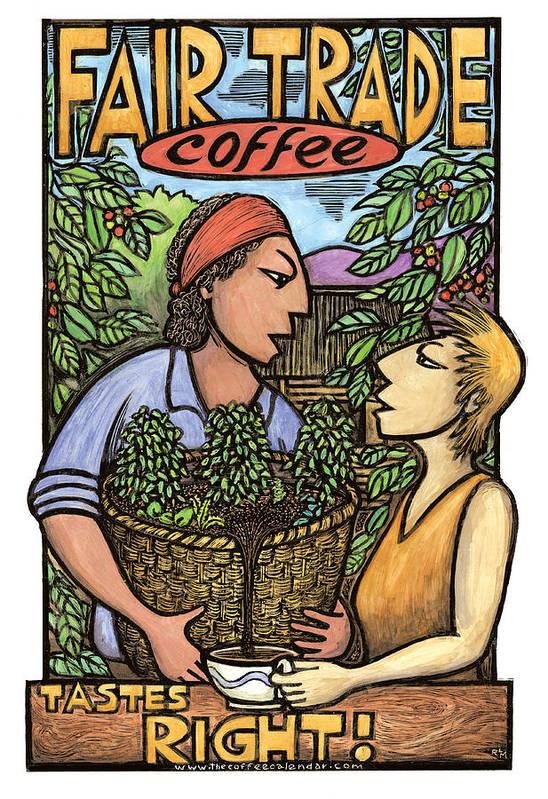 Fair Trade Coffee by Ricardo Levins Morales