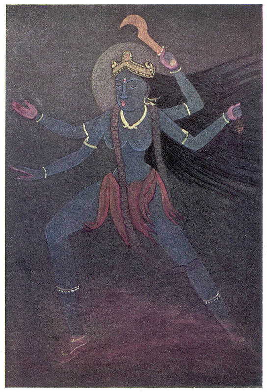 The Goddess Kali, The  Malevolent by Mary Evans Picture Library
