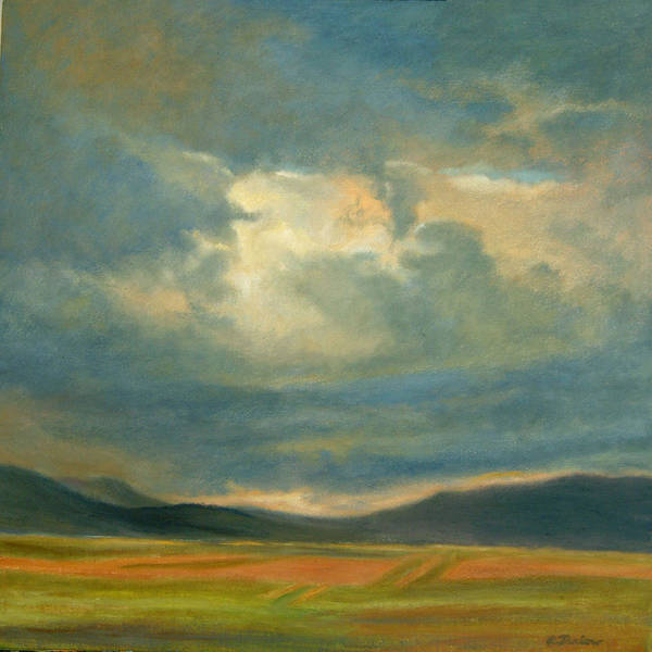 Southwest Art Print featuring the painting Emergence by Phyllis Tarlow