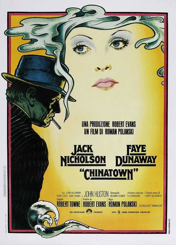 Chinatown Film Poster by Georgia Fowler