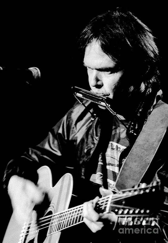 Neil Young 1986 #2 by Chris Walter