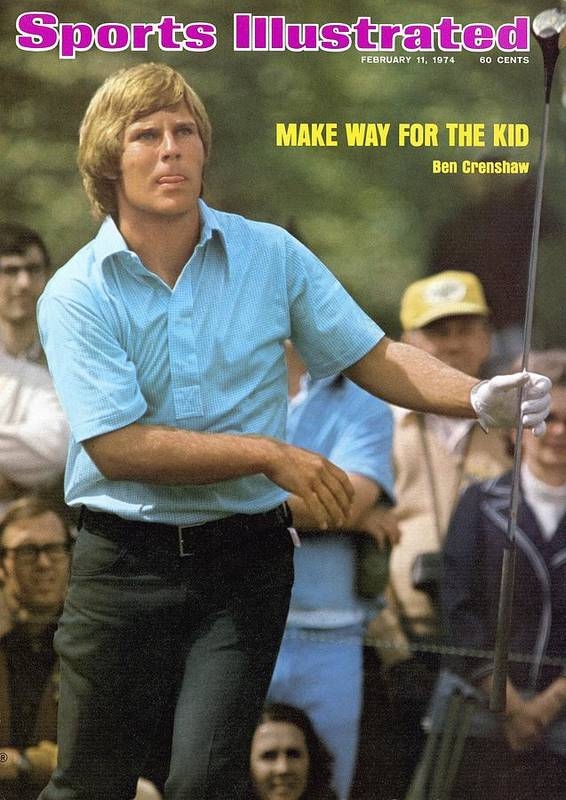 Magazine Cover Art Print featuring the photograph Ben Crenshaw, 1973 Masters Sports Illustrated Cover by Sports Illustrated