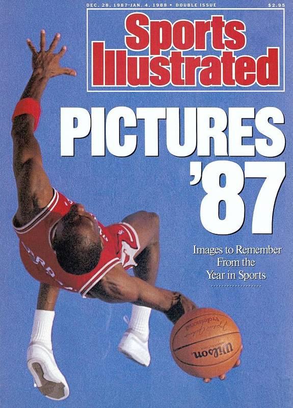 Magazine Cover Art Print featuring the photograph Chicago Bulls Michael Jordan Sports Illustrated Cover by Sports Illustrated