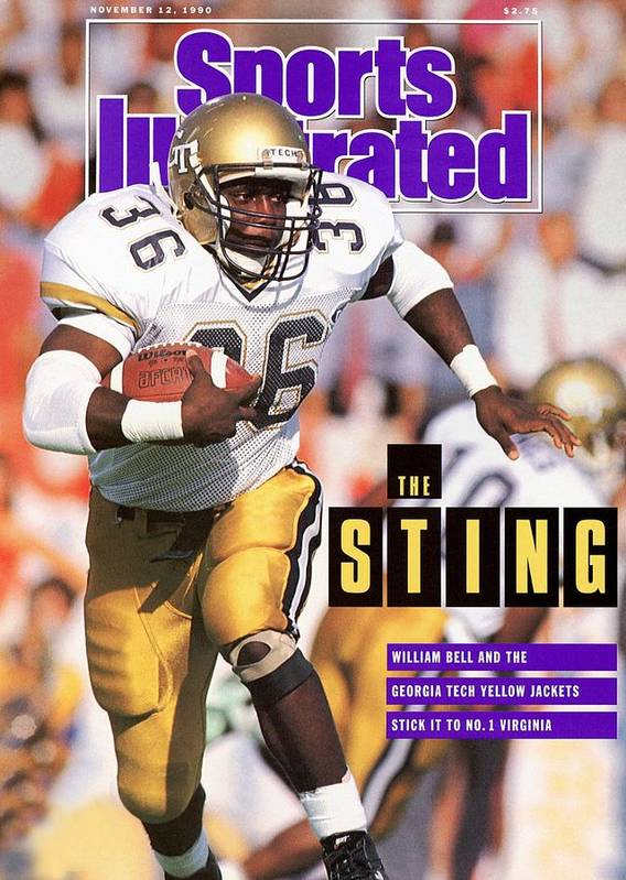 Magazine Cover Art Print featuring the photograph Georgia Tech William Bell... Sports Illustrated Cover by Sports Illustrated