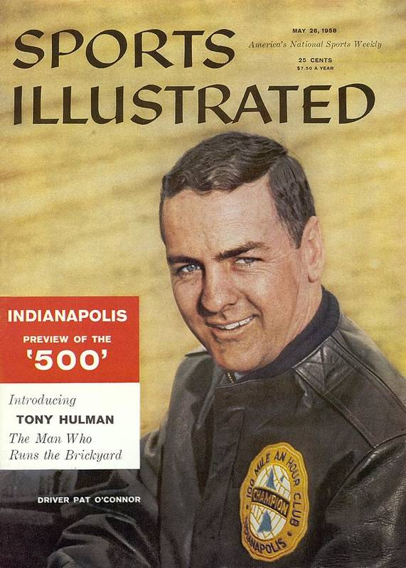 Magazine Cover Art Print featuring the photograph Indy 500 Preview Sports Illustrated Cover by Sports Illustrated