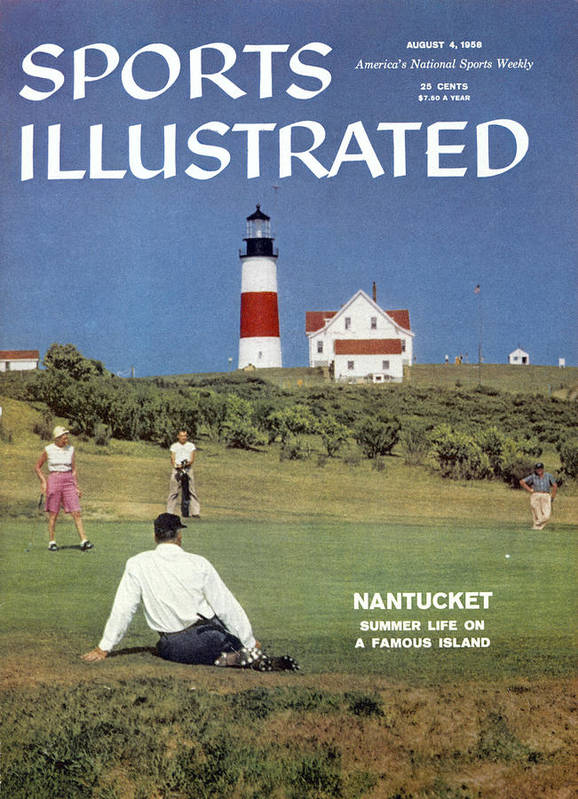 Magazine Cover Art Print featuring the photograph Nantucket Island Golf Sports Illustrated Cover by Sports Illustrated