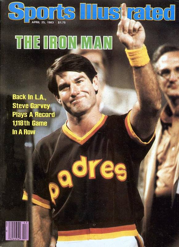 Magazine Cover Art Print featuring the photograph San Diego Padres Steve Garvey Sports Illustrated Cover by Sports Illustrated