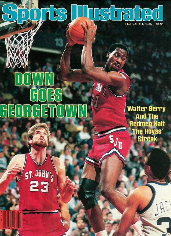 Magazine Cover Art Print featuring the photograph St. Johns University Walter Berry Sports Illustrated Cover by Sports Illustrated