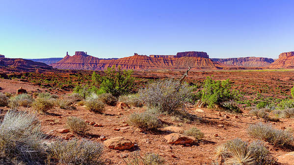 Moab 2020 Art Print featuring the photograph Utah Landscape by Jim Thompson