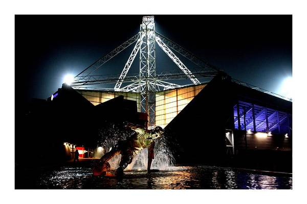 Splashing About Under The Lights by CP Shorrock