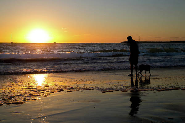 California Art Print featuring the photograph Playa del Rey Sunset by Fred DeSousa