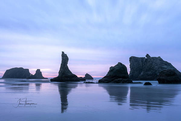 Bandon Beach Art Print featuring the photograph The Witches Hat by Jim Thompson