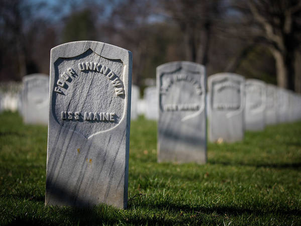 Arlington National Cemetery Art Print featuring the photograph Four Unknowns by Fred DeSousa