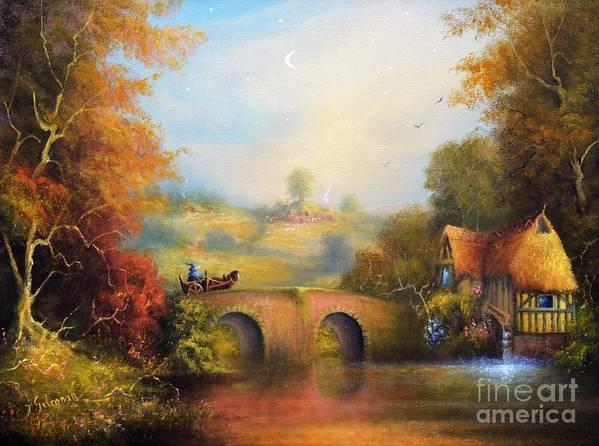 . The Old Water Mill Hobbiton by Ray Gilronan
