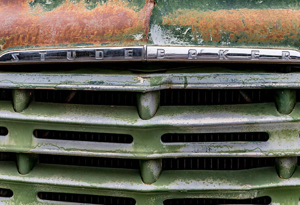 Stude Art Print featuring the photograph Stude Grill by Mark Miller