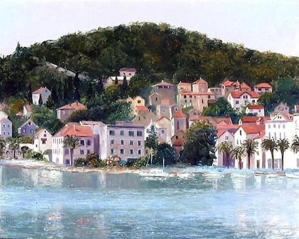 Split Harbour Croatia by Jan Matson