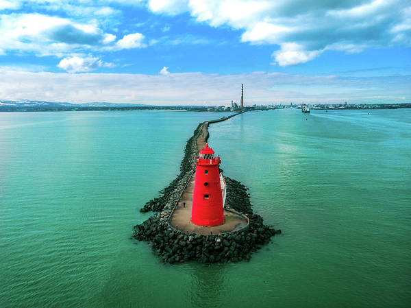 Poolbeg Lighthouse by Eben Gourley