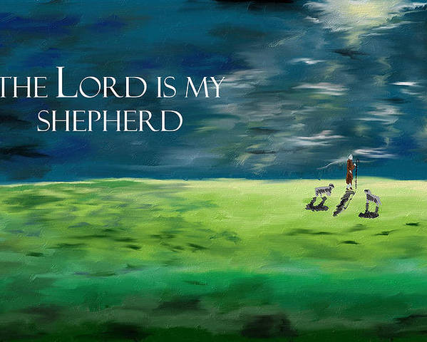The Lord is my Shepherd by Rafael Charpentier