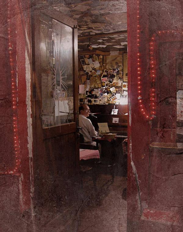 Paris Night Scene Art Print featuring the photograph Vintage Paris 2 by Richard Cummings