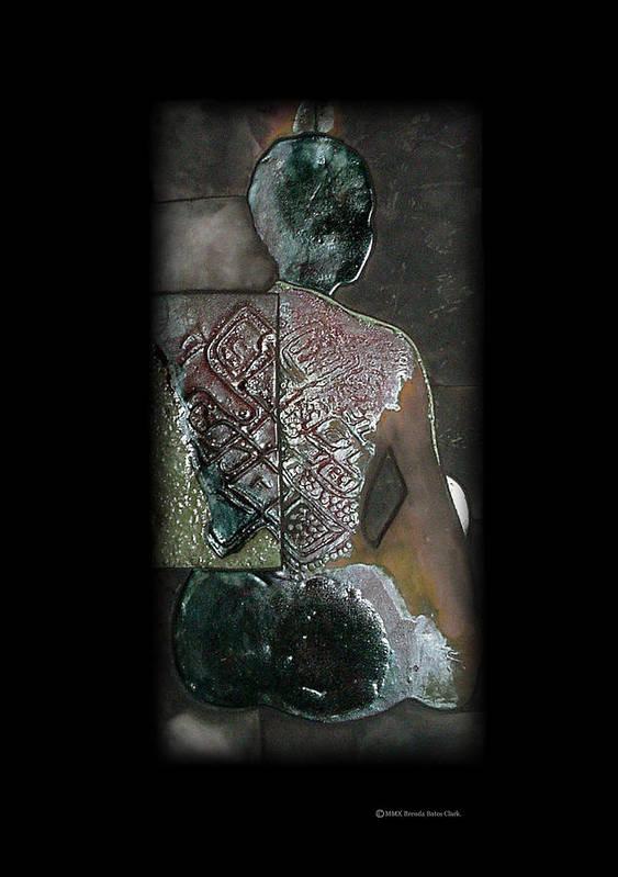 Print Art Print featuring the ceramic art Ritual Transformation by Bates Clark
