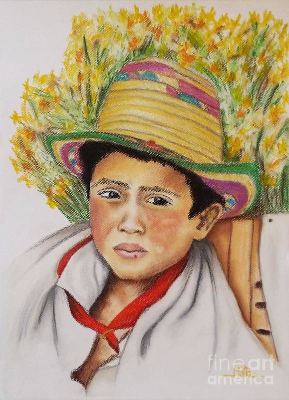 Colombian Silletero Boy by Cris Motta