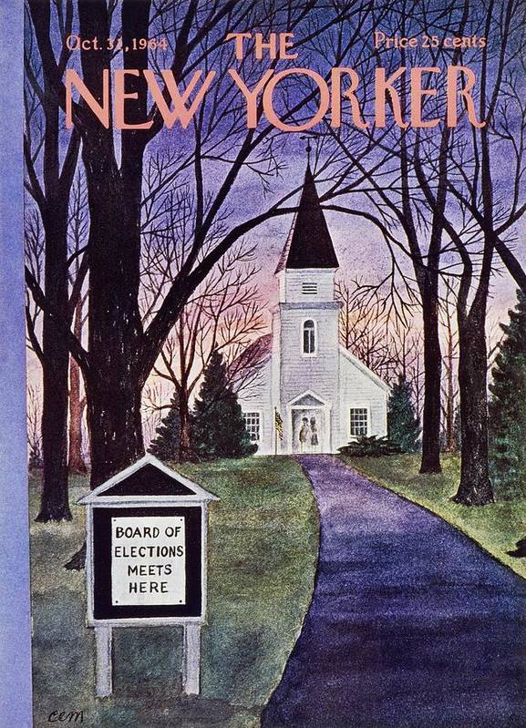 New Yorker October 31st 1964 by Charles E Martin