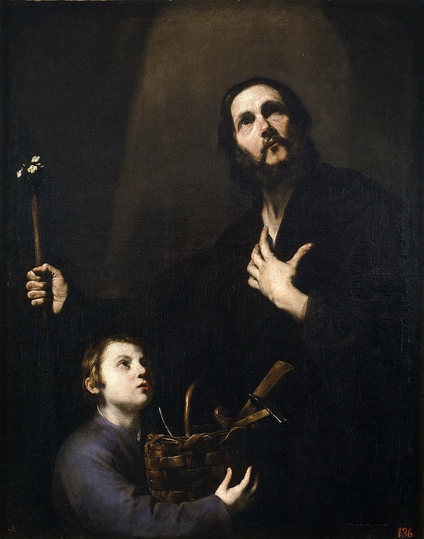 St Joseph and the Jesus Child by Jusepe de Ribera