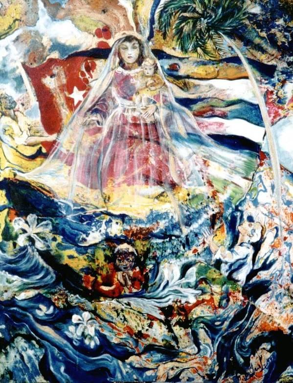 Virgen de la Caridad del Cobre by Iris Leyva Acosta