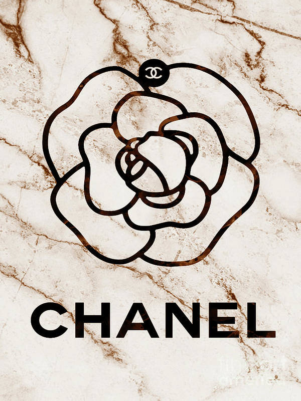 Chanel Flower Beige by Del Art