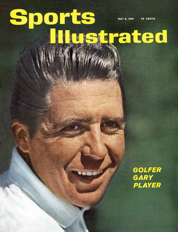 Magazine Cover Art Print featuring the photograph Gary Player, 1961 Masters Tournament Sports Illustrated Cover by Sports Illustrated