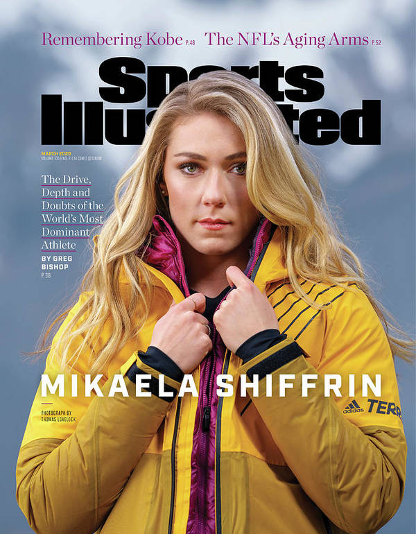 Skiing Art Print featuring the photograph Mikaela Shiffrin, Sports Illustrated, March 2020 Sports Illustrated Cover by Sports Illustrated