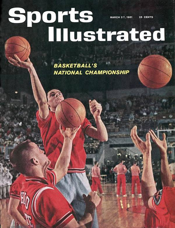 Magazine Cover Art Print featuring the photograph Ohio State Jerry Lucas... Sports Illustrated Cover by Sports Illustrated