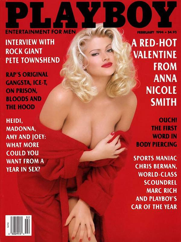 Playboy Magazine Cover 1994 by Andreas Schmid