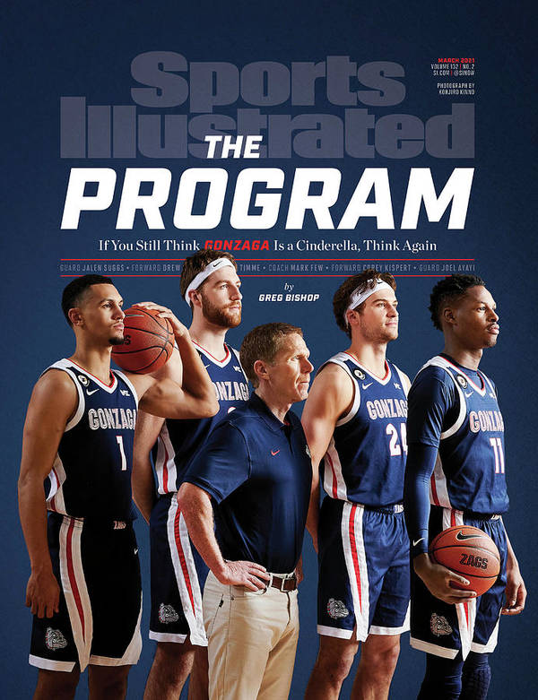 Gonzaga Art Print featuring the photograph Gonzaga The Program cover by Sports Illustrated