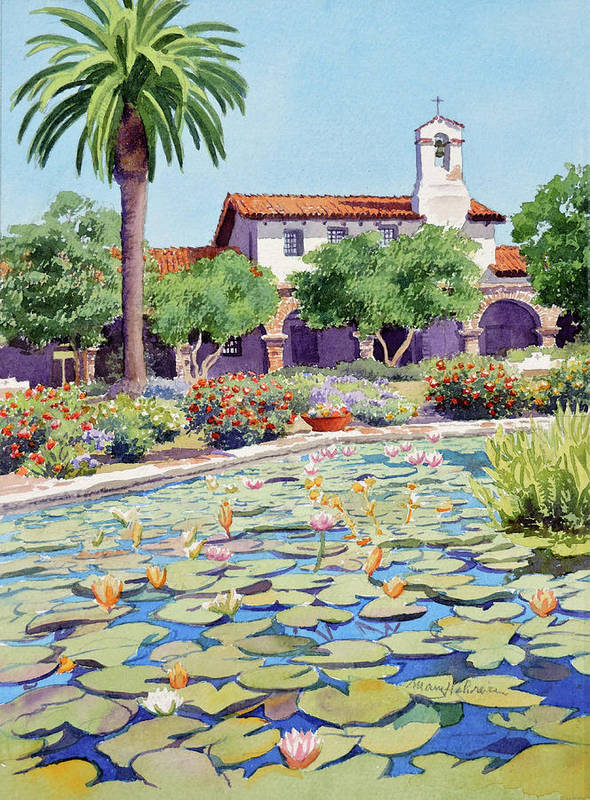 Mission San Juan Capistrano by Mary Helmreich