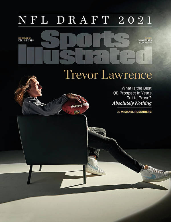 Trevor Lawrence Art Print featuring the photograph NFL Draft 2021 Trevor Lawrence Sports Illustrated cover by Sports Illustrated
