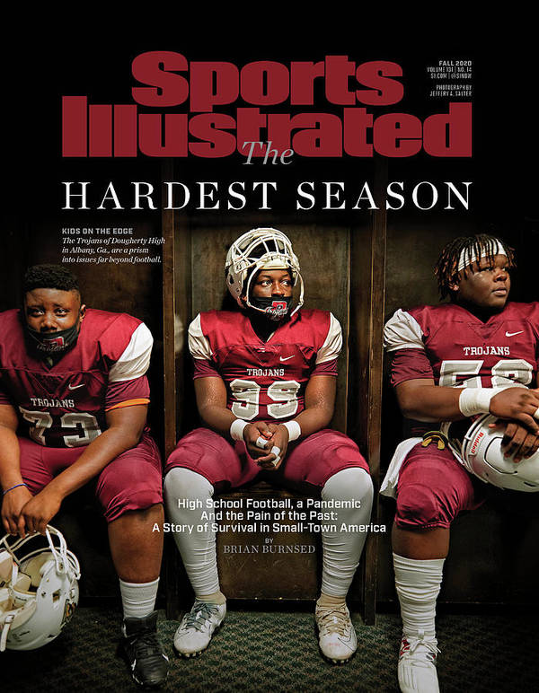 X163367_tk_2_2602cov Art Print featuring the photograph The Hardest Season by Sports Illustrated