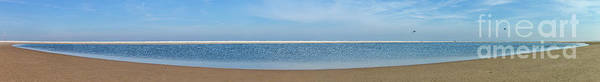 Panorama Art Print featuring the photograph Northsea Panorama by Casper Cammeraat