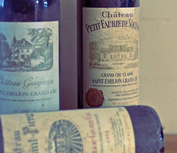 Saint Emilion Wine Print featuring the photograph Chateau Petit Faurie De Soutard by Georgia Fowler