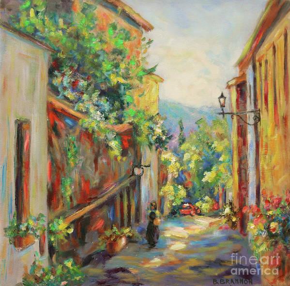 Tuscan Side Street by Brenda Brannon