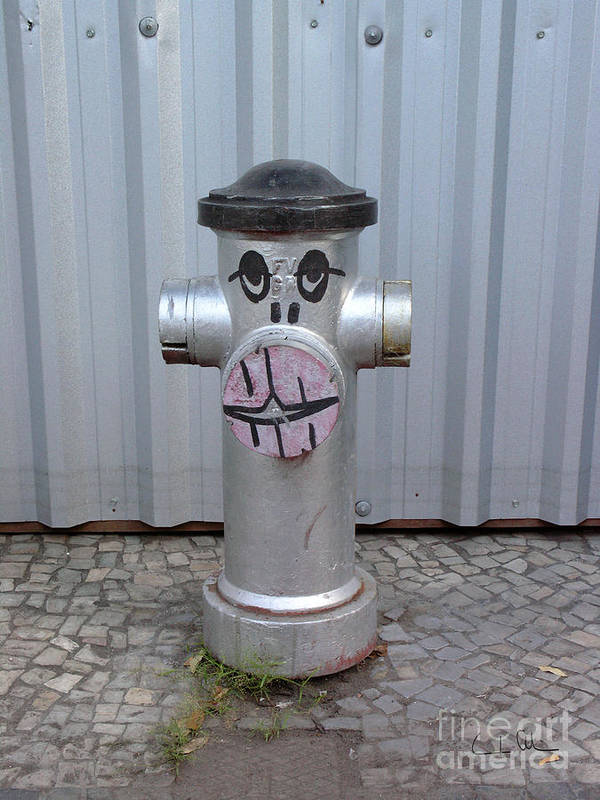 Hydrant Art Print featuring the photograph Sexy Lips by Carlos Alvim