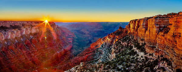 Grand Canyon Art Print featuring the photograph Grand Canyon Sunset by Az Jackson