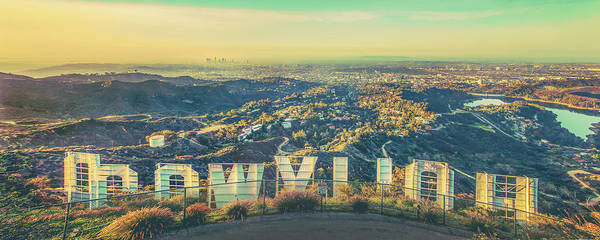 Los Angeles Art Print featuring the photograph Cinematic by Az Jackson